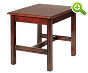 Chippendale End Table, Square - SPFTLE12