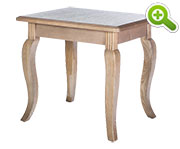 Country French End Table - SPFTE52