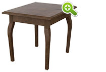 Carnegie Hill End Table, Rectangular - SPFCH25